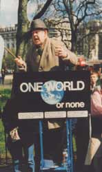 Speakers Corner: one world or none